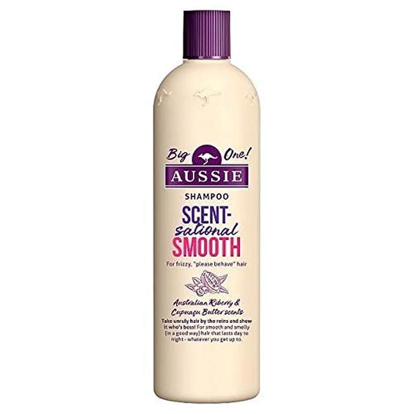 離婚木材書道[Aussie ] オージーScentsationallyスムーズなシャンプー500ミリリットル - Aussie Scentsationally Smooth Shampoo 500ml [並行輸入品]