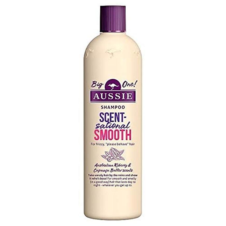 赤イソギンチャクフラフープ[Aussie ] オージーScentsationallyスムーズなシャンプー500ミリリットル - Aussie Scentsationally Smooth Shampoo 500ml [並行輸入品]