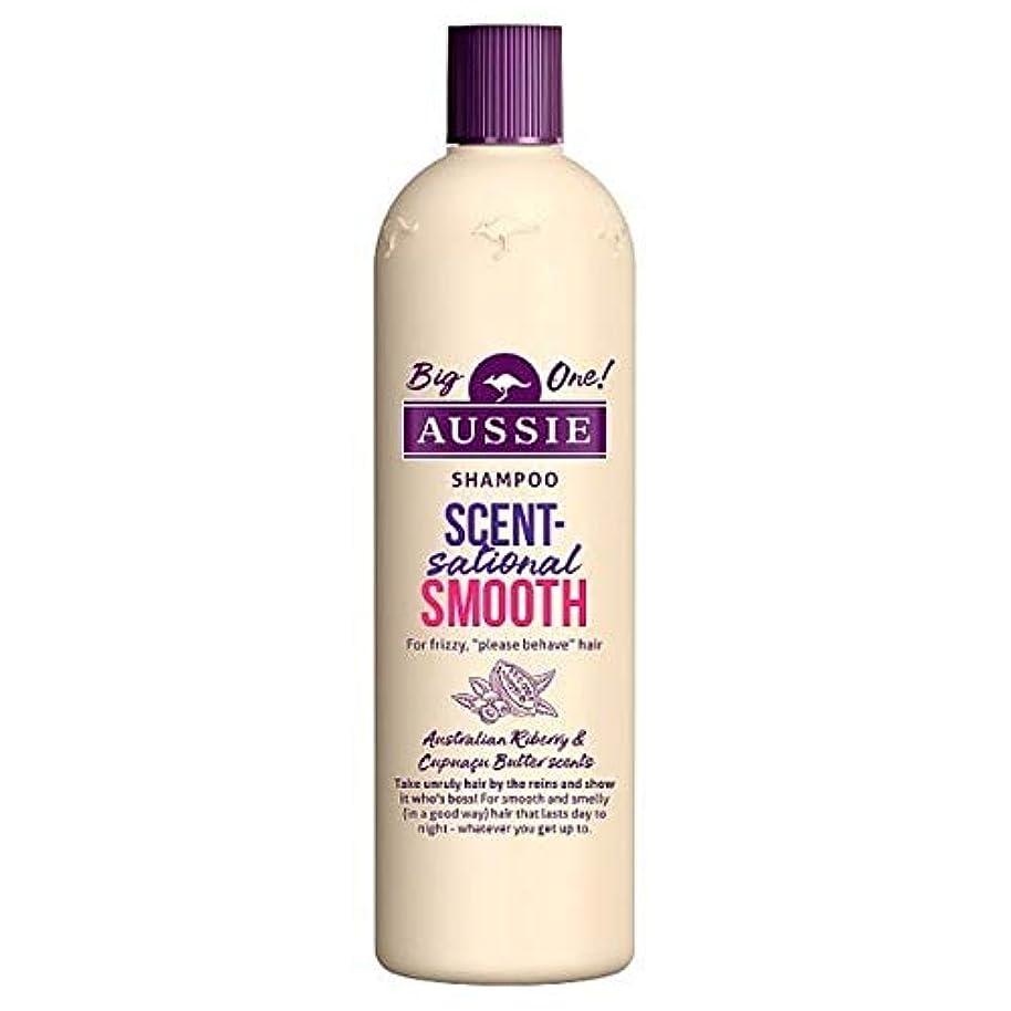 面倒和らげる中断[Aussie ] オージーScentsationallyスムーズなシャンプー500ミリリットル - Aussie Scentsationally Smooth Shampoo 500ml [並行輸入品]