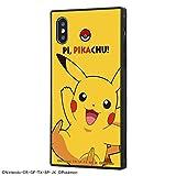 iPhone XS/X/ポケットモンスター ポケモン Pokemon/耐衝撃ケース KAKU トリプルハイブリッド/ピカチュウ IQ-PP20K3B/PK001