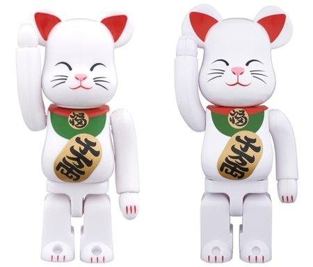 東京ソラマチ限定 BE@RBRICK ベアブリック 招き猫 白 400% 2015年度