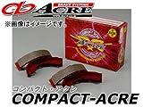 アクレ/ACRE ブレーキシュー リア コンパクトアクレ S0037 ダイハツ コペン L880K 660cc 2002年06月~