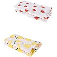 B Blesiya ベビー用 毛布 ブランケット タオル 赤ちゃん寝具 軽量 柔らかい コットン製 約43.31x43.31インチ