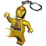 (スター?ウォーズ) Star Wars オフィシャル商品 レゴ C-3PO キャラクター キーライト キーホルダー