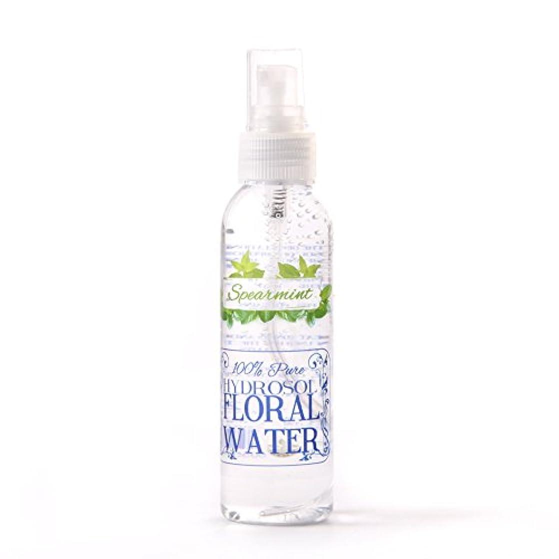 映画ペレット映画Spearmint Hydrosol Floral Water With Spray Cap - 125ml