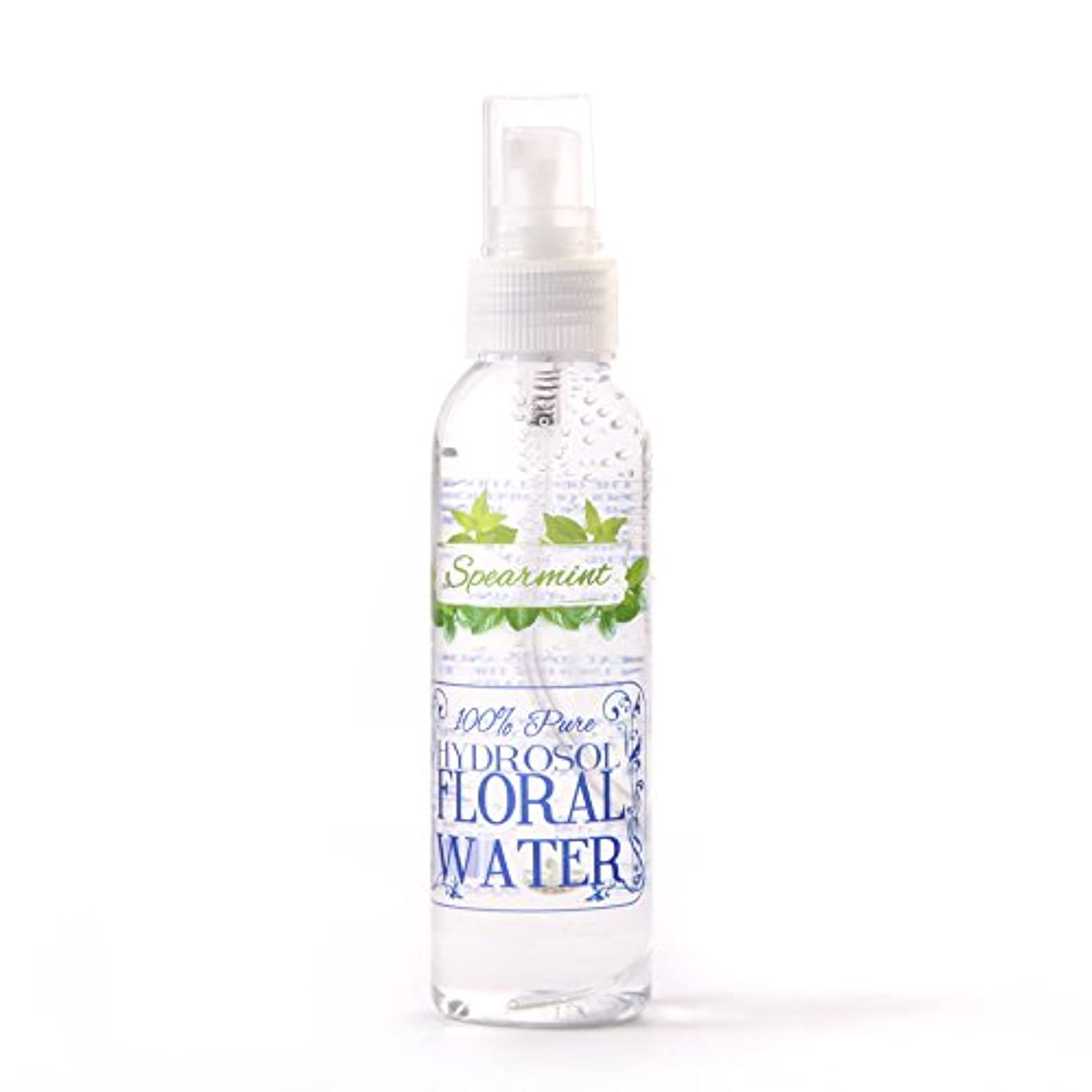 トランスペアレントパリティ水没Spearmint Hydrosol Floral Water With Spray Cap - 250ml