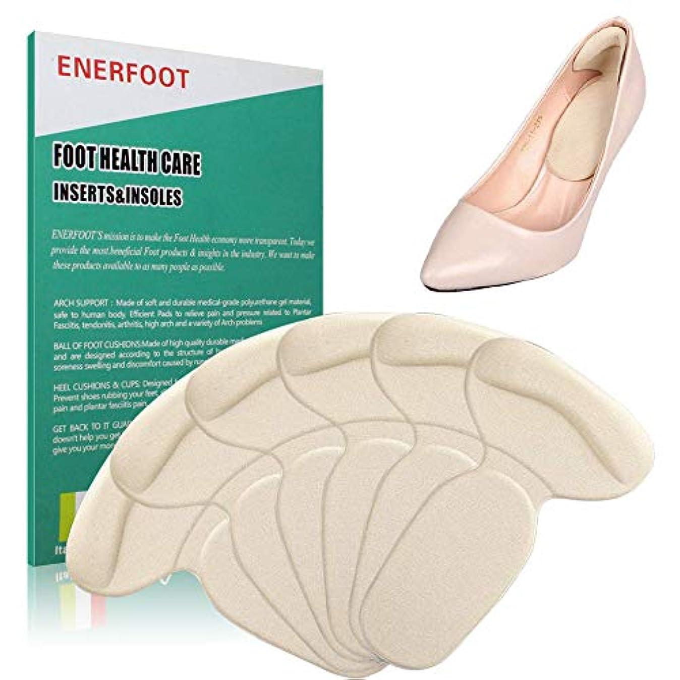奨学金ビーム連邦ENERFOOTヒールクッションが大きすぎる靴用の靴パッドを挿入します、靴ヒールパッドヒールグリップライナーミックス快適な靴ヒール用プロテクター