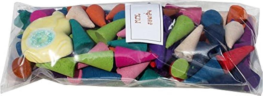 微妙しなやかなランドリーRaanPahMuang Incense Conesミックスのさまざまな香り(パックof 130 – 140pcs )フリースタンド item637180AMZ
