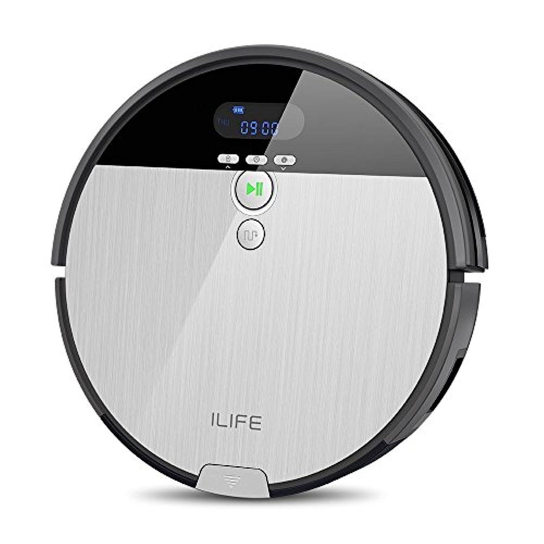 ILIFE V8s ロボット掃除機 強い吸引力 吸い? 拭き両用 ペットの毛に効果的 落下防止と衝突防止