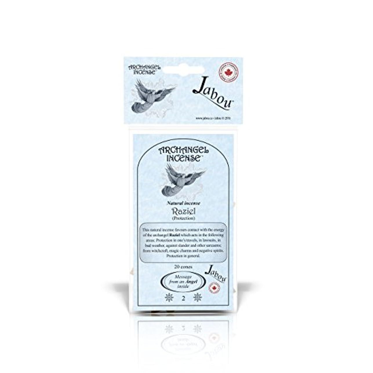 発疹主観的アパートJabou 大天使 100%天然お香 コーン - 12個の香り - 瞑想 ヨガ リラクゼーション マジック ヒーリング 祈り 儀式 - 20個のコーン - 各30分以上持続