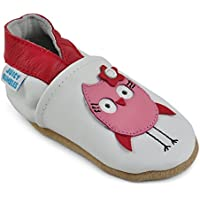 Juicy Bumbles Beautiful Soft Leather Baby Shoes - Toddler Shoes Suede Soles