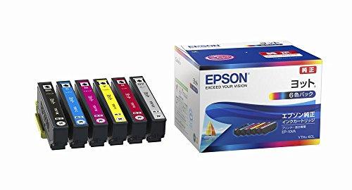 EPSON 純正インクカートリッジ  YTH-6CL 6色セット