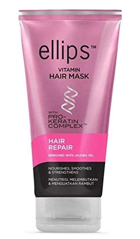 修正思春期疾患Ellips 髪のマスク(プロケラチン) - 髪の修復、120 ml(1パック)