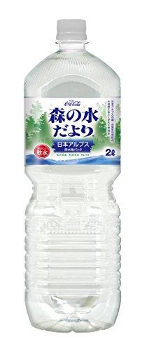 [2CS] コカ・コーラ 森の水だより 日本アルプス (2.0L×6本)×2...