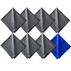 BONTIME クリーニングクロス マイクロファイバー20cm×18cm (8枚セット/個別包装)