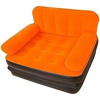 GRJH® Beanbag、インフレータブルソファ個別のフロッキング材料Collapsible Multifunction Siesta bed ポータブル,折りたたみ可能 ( 色 : #1 )