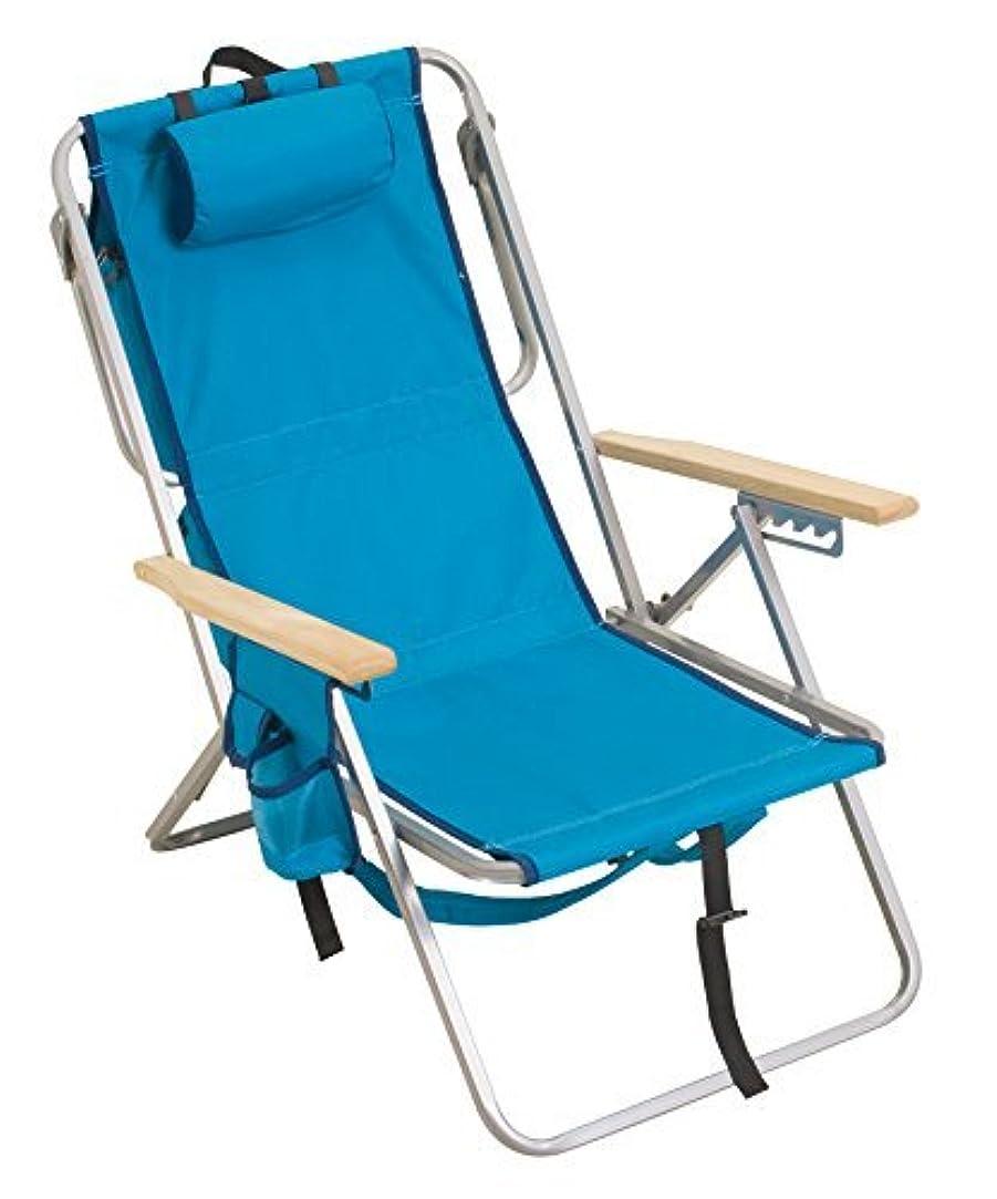 マカダム臨検省略RIO Brands Gear 5 Position Steel Backpack Chair with Cooler, Aruba [並行輸入品]