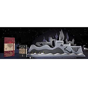 Moleskine 2018-2019 18M Limited Edition Harry Potter Weekly Notebook, Large, Weekly Notebook, Red, Hard Cover (5 x 8.25)