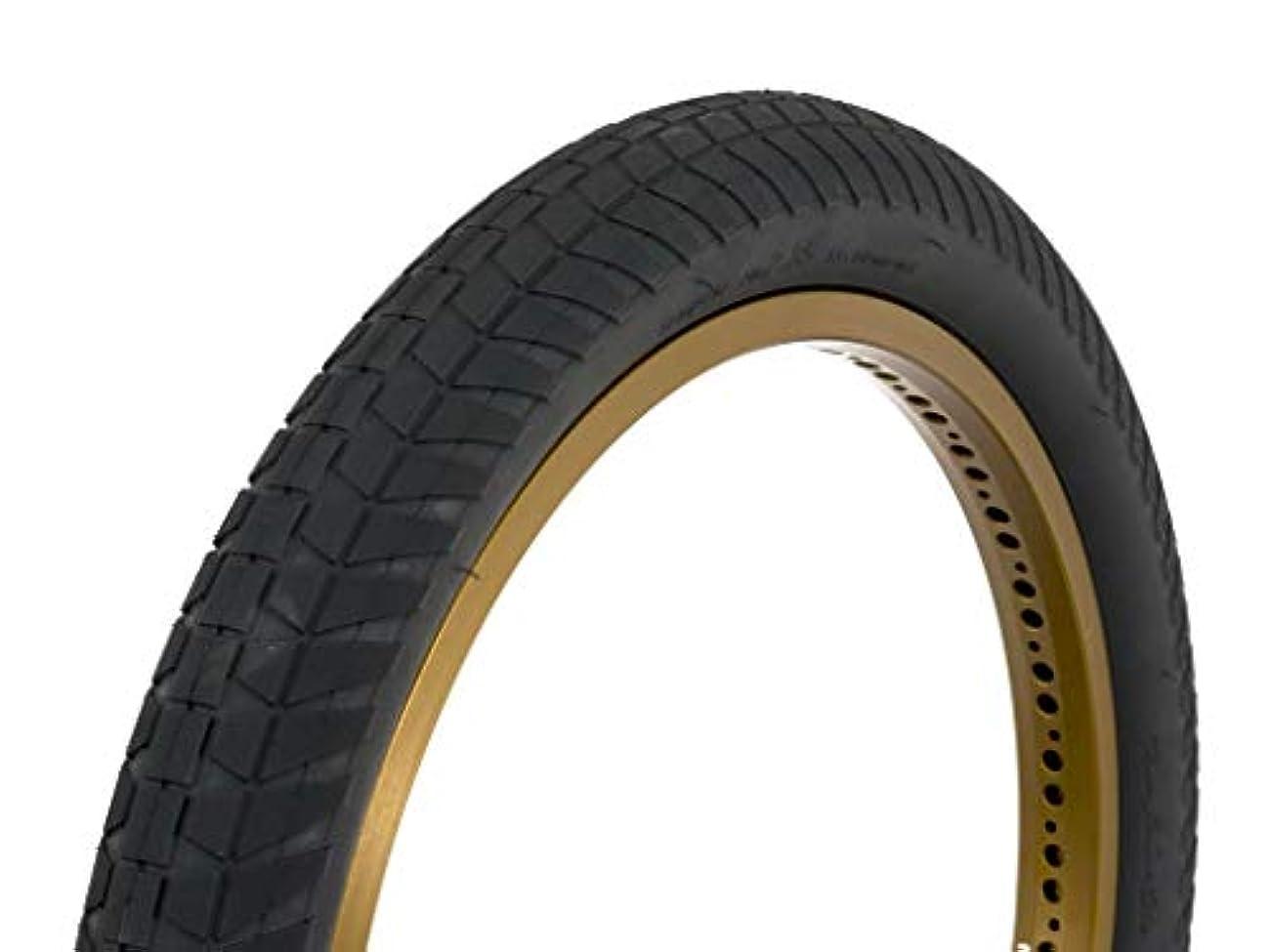 ネーピアコーラスみなすFlybikes Rampera タイヤ 20 x 2.15 ブラック
