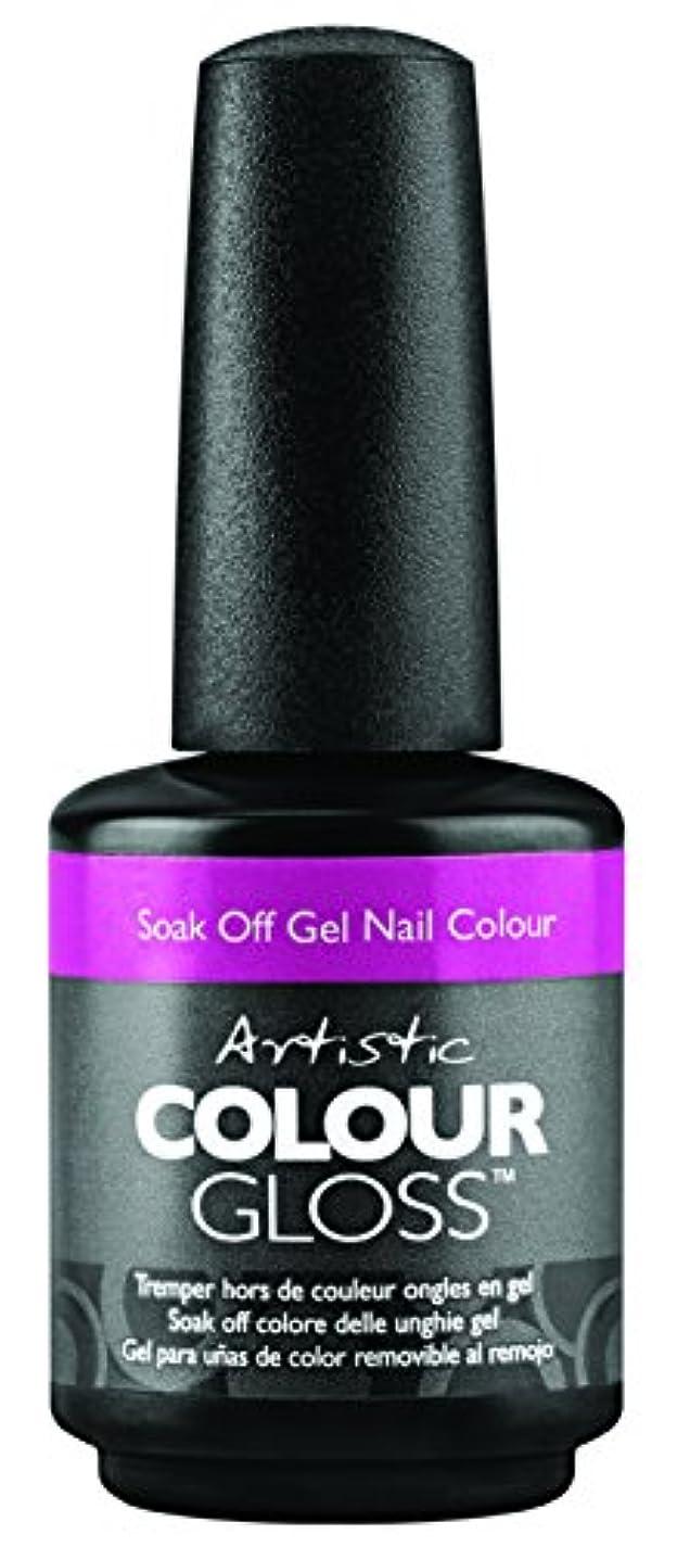 なめらかな作成者テーブルを設定するArtistic Colour Gloss - Mud, Sweat, & Tears Collection - Wo-man Up - 15 mL / 0.5 oz