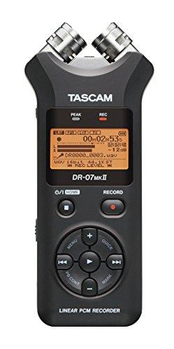 ティアック 24bit/96kHz対応リニアPCM/ICレコーダー DR-07MK2J