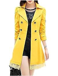G.G.MAX 大きめのリボンがキュートなワンピース風コート これ一着で大人の女性を演出できる