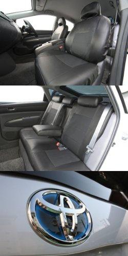 トヨタ 20系プリウス専用シートカバー レザー&パンチング