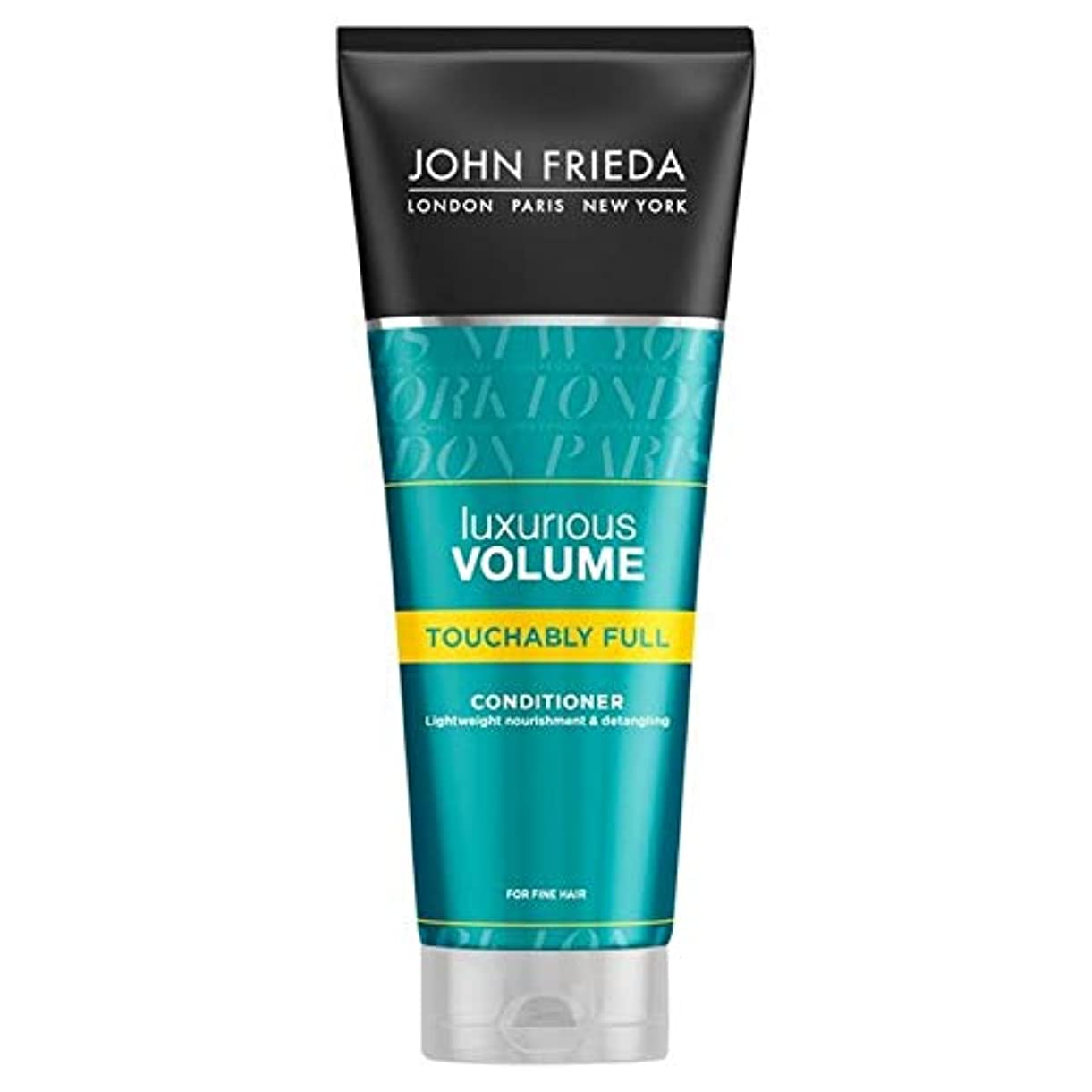 れるバンガロー前件[John Frieda ] ジョン?フリーダ贅沢なボリュームTouchablyフルコンディショナー250Ml - John Frieda Luxurious Volume Touchably Full Conditioner...