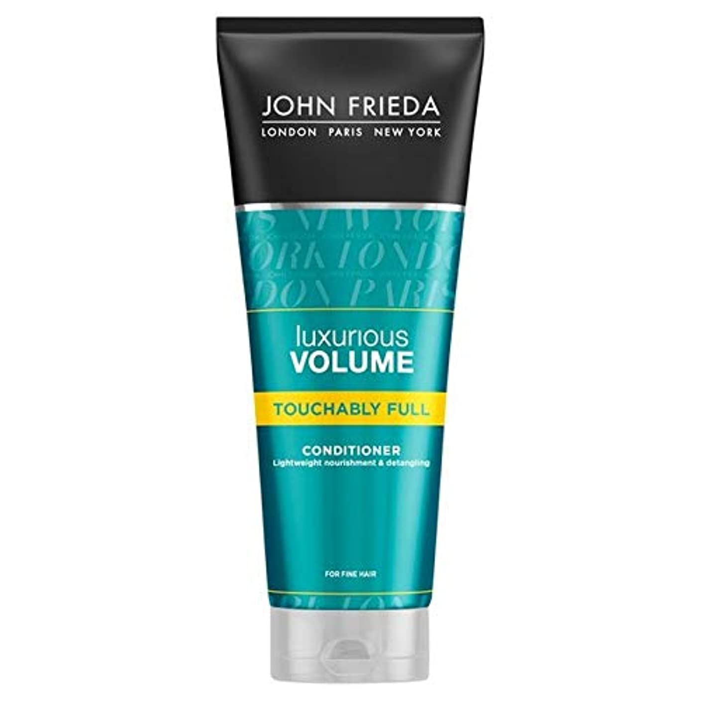 音楽スキニーリフト[John Frieda ] ジョン?フリーダ贅沢なボリュームTouchablyフルコンディショナー250Ml - John Frieda Luxurious Volume Touchably Full Conditioner...