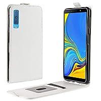 Lovebee Samsung Galaxy A7 (2018) A750 シェル, 柔らかい グリップ TPU 薄いです [ スリム 合う ] 保護 カバー 衝撃吸収 Durable Protective Case 耐久性のある 電話 シェルs 緩衝器 [White ]