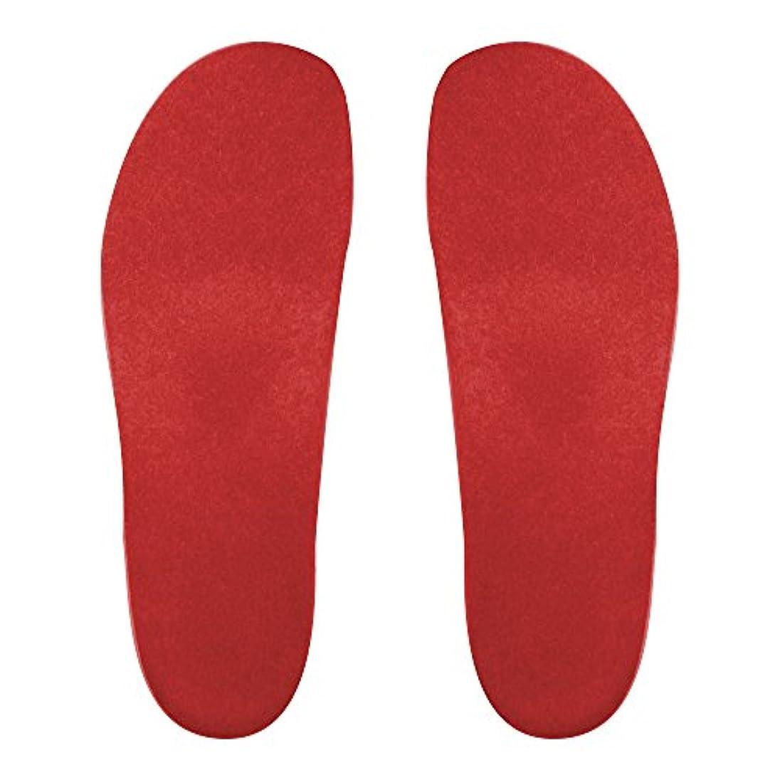 専門化するスイのスコアプレミアムルームシューズ「フットローブ ピエモンテ / footrobe Piemonte」専用外反母趾対策フェルトインソール(レッド)女性用 23.0cm