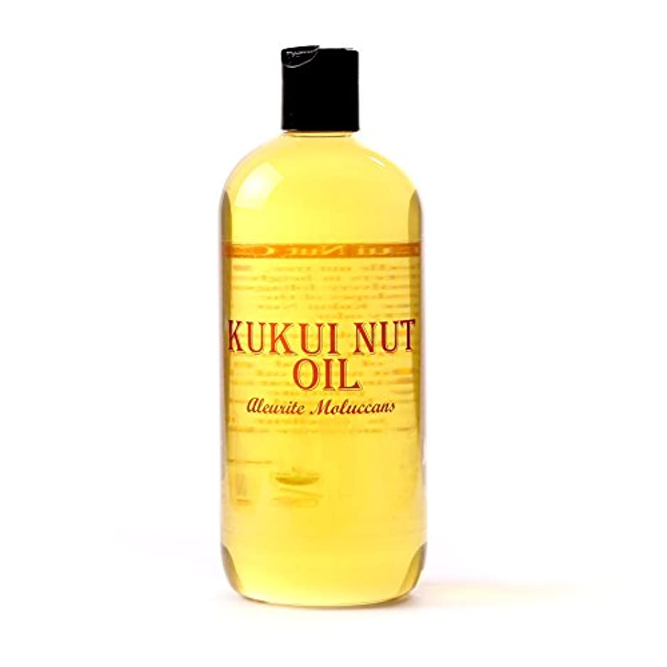 好きセント枯渇するMystic Moments | Kukui Nut Carrier Oil - 500ml - 100% Pure