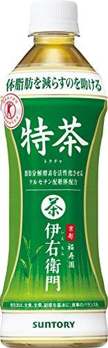 [トクホ]サントリー緑茶 伊右衛門特茶 500ml×24本