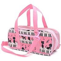 絵の具セット おけいこかばん ピアノの上で踊る黒猫ワルツ(ピンク) N2100710
