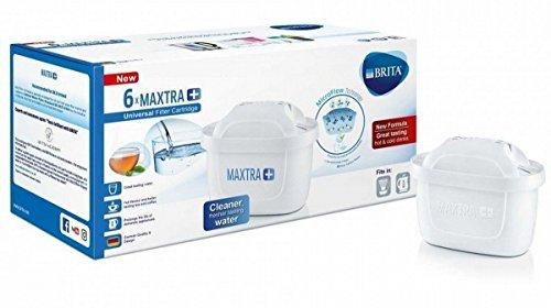 BRITA MAXTRA PLUS カートリッジ ブリタ マクストラ プラス 6個セット 日本語説明...