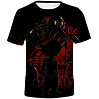 Ersak Unisex Adult and Youth Big Boys Dragon Ball Goku Short Sleeve T-Shirts Creative 3D Print Anime Tees (L, 5)