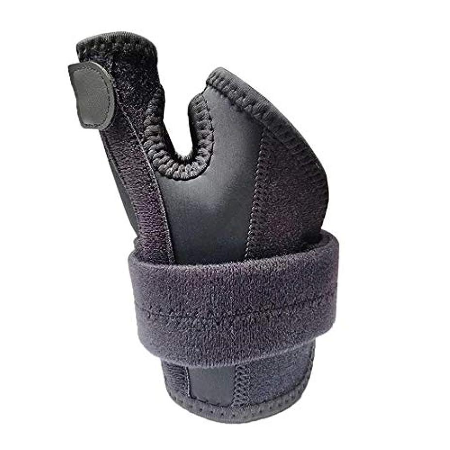 ロシア脊椎ピルファーZYL-YL 親指脊椎骨折手の固定具手首カプセル親指ブレーススプリントハンドスプリント (Edition : Left)