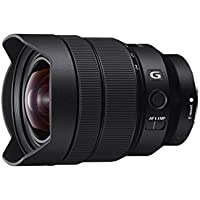 Sony sel1224g 12–24mm f / 4–22固定ズームカメラレンズ、ブラック