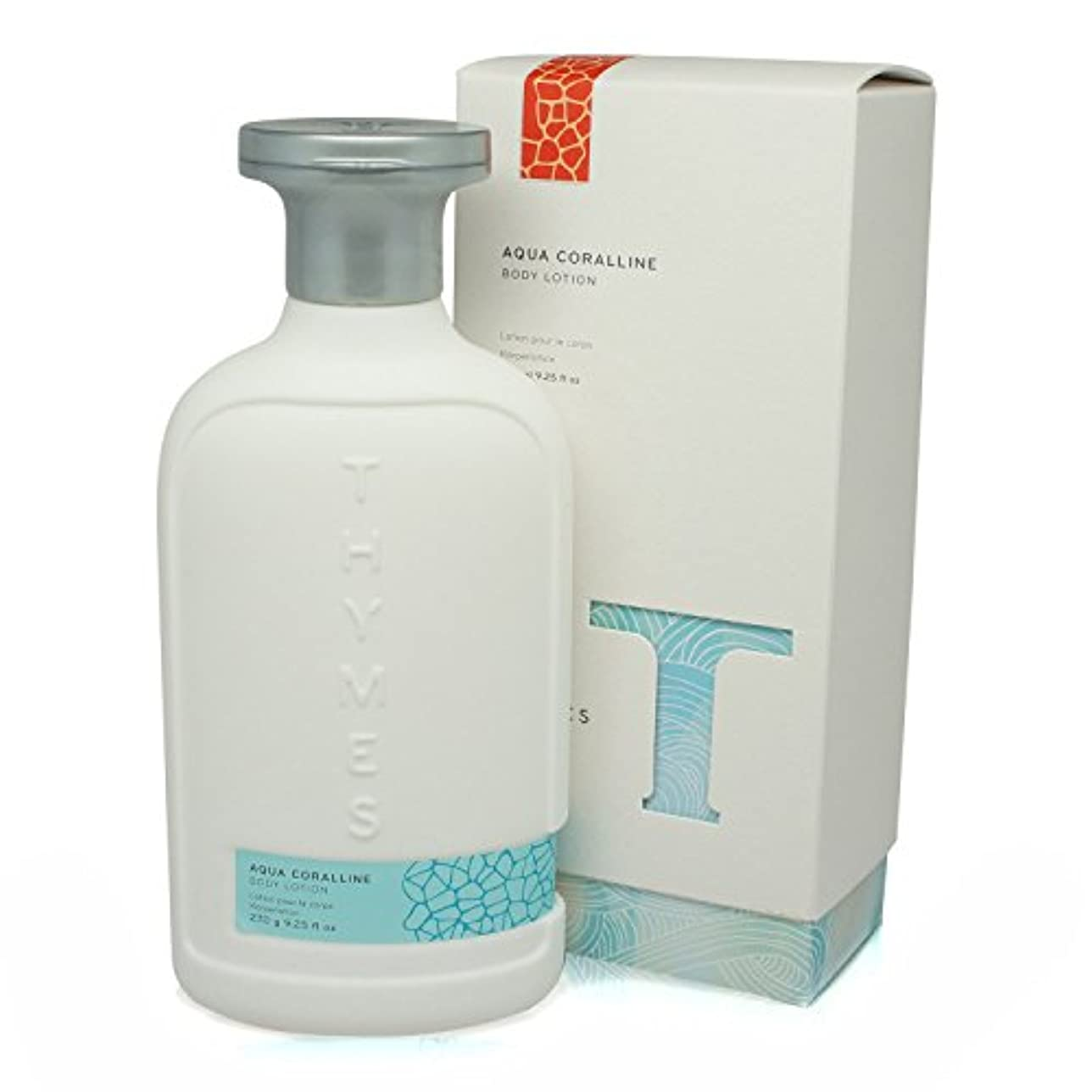 意義化石意義Thymes 637666041926 Aqua Coralline Body Lotion