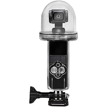 LICHIFIT osmo pocket防水ケース DJI OSMO Pocket ハウジングケース 保護ケース 水中撮影 ダイビングケース 水深60m キズ防止 全面保護 耐衝撃 アクセサリー