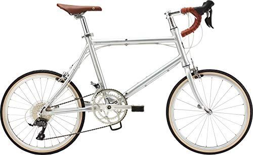 ダホン(DAHON) Dash Altena 2x8段変速 折りたたみ自転車 19DSALSL0L ブリリアントシルバー Lサイズ