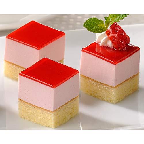 【業務用】フレック カット済みケーキ レアーストロベリー(とちおとめ苺果汁使用)49個