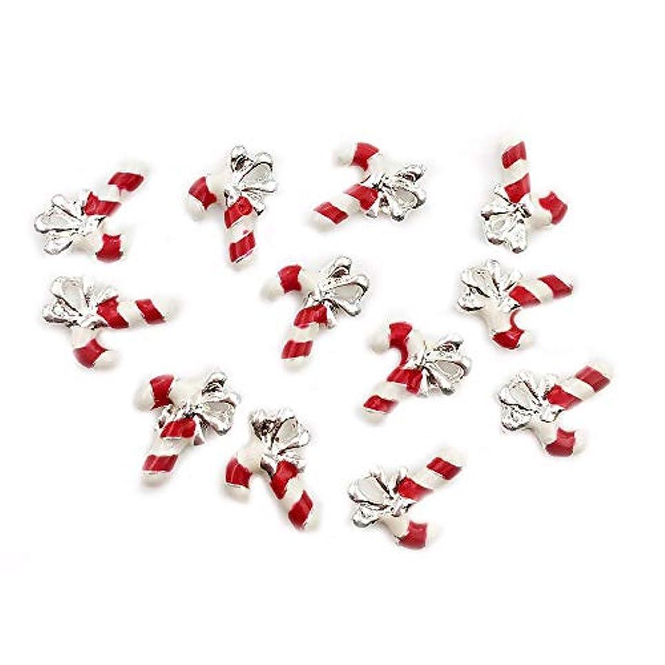 レプリカスペクトラム姿勢クリスマスツリー10 PCSメタル3Dネイルアートクリスマスの装飾チャームネイルズグリッターラインストーンネイル用品ジュエリー