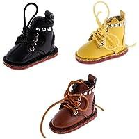 Jiliオンライン3ペアトレンディカジュアルPUレザーマーティンブーツ靴の12