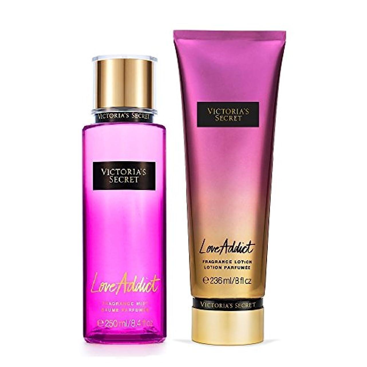 邪魔する線不安フレグランスミスト&フレグランスローション LoveAddict Victoria'sSecretFantasies FragranceMist & FragranceLotion ヴィクトリアズシークレット Victoria'sSecret...