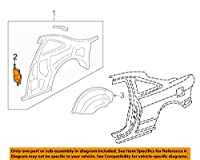HONDA (ホンダ) 純正部品 エクステンシヨン L.リヤーホイールアーチ インテグラ 3D 品番64721-ST7-Z00ZZ