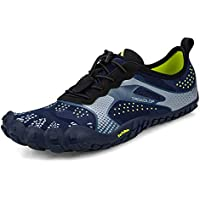 Troadlop Men's Hiking Shoes Quick Drying Lightweight Mesh Breathable Jogging Trail Outdoor Running Sneakers