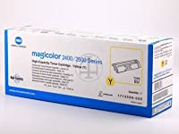 Konica Minolta Magicolor 2550N ( 1710589005/ a00W132)–オリジナル–トナーイエロー–4.500ページ