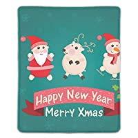 マウスパッド サンタクロース雪だるまの挨拶パターン ゲームパッド ゲームプレイマット