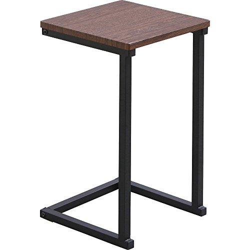 アイリスオーヤマサイドテーブル SDT-29 ブラウンオーク/ブラック(251177) アイリスオーヤマ
